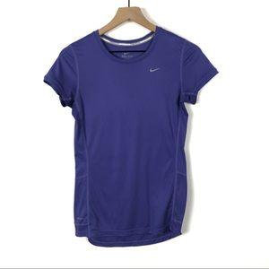 🦋Nike Dri Fit purple Short Sleeve Workout T-shirt